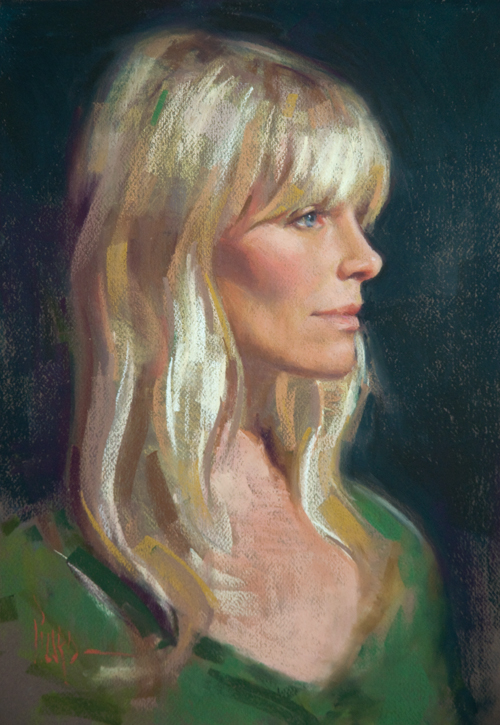 lena | pastel portraits