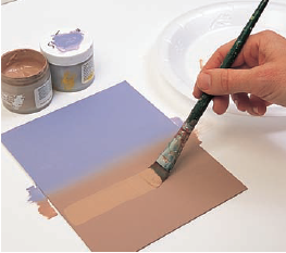 Increase Transparency of Paint Colors and Reapply One Color