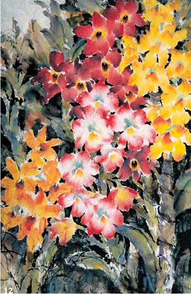 Orchids by Lian Quan Zhen