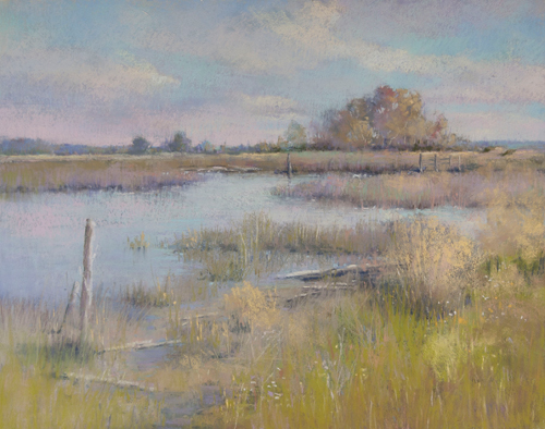 Again Autumn (pastel) by Jane McGraw-Teubner