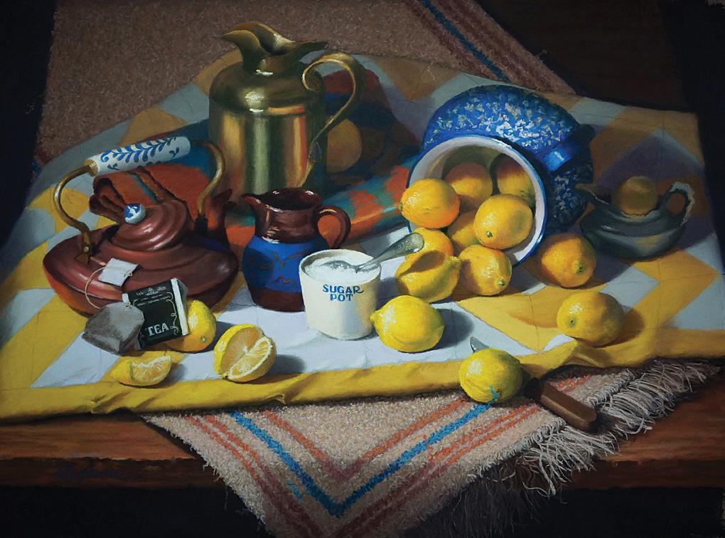 Runaway Lemons (16x22)