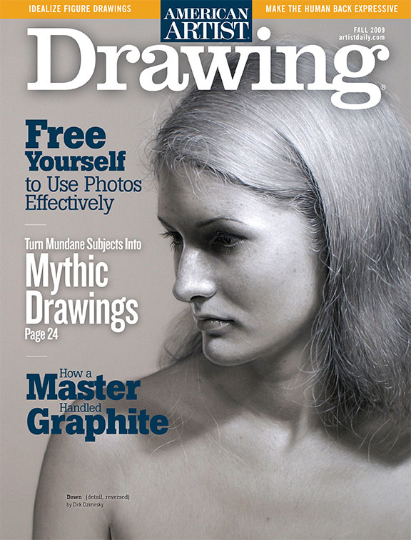 Drawing, fall 2009. Cover art by Dirk Dzimirsky.