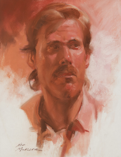 Phil by Ned Mueller | pastel portrait