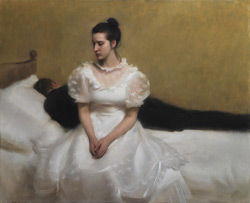Wedding Night (oil, 13 4/5x 31 1/2) by Nick Alm