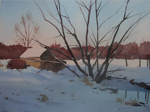Winter Light | winter landscape