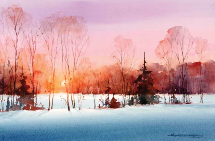 Learn how to paint landscapes in watercolor with this free pdf at ArtistsNetwork.com