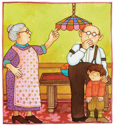 The Irish grandparents from Tom, a story based on dePaola's childhood.