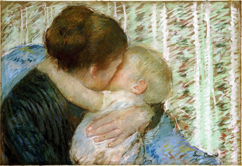The Goodnight Hug by Mary Cassatt