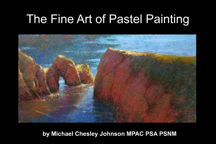 michael chesley johnson pastel