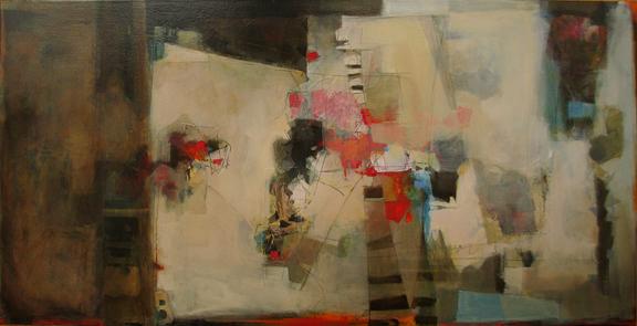 mixed media art by Jean Pederson