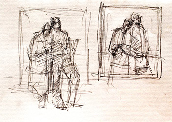 compositional sketches