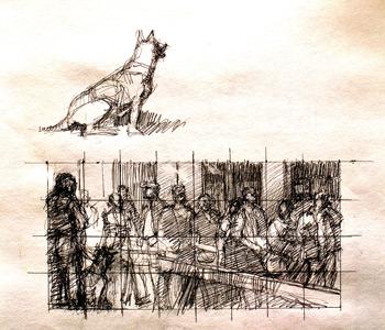 Max Ginsburg sketch