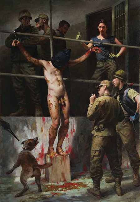 Torture Abu Ghraib by Max Ginsburg