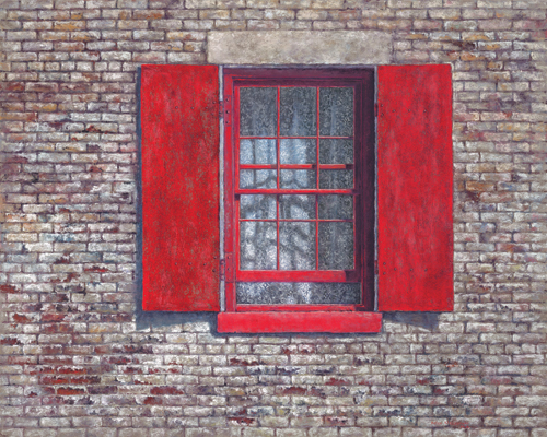 Bricks and Lace (pastel, 24x30) by Helen Kleczynski | fine arts