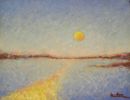 Dancing Sunlight (pastel) by Carole Katchen | pastel painting