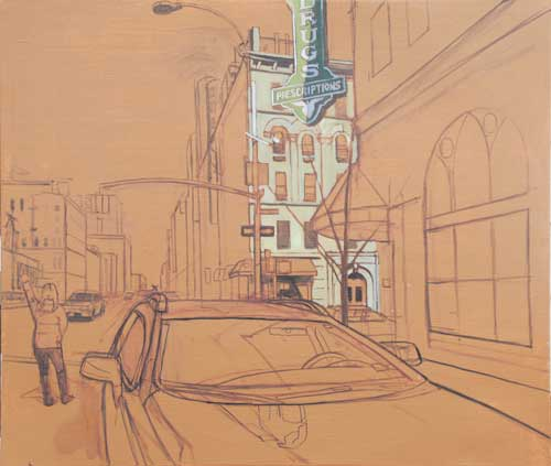 Cityscape: Perfecting Street Scene Perspective, by Brian Keeler   ArtistsNetwork.com