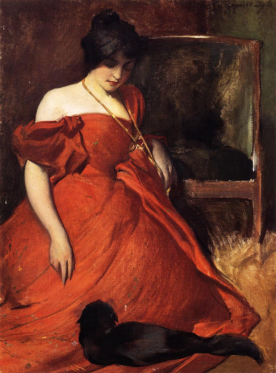 Black and Red by John White Alexander