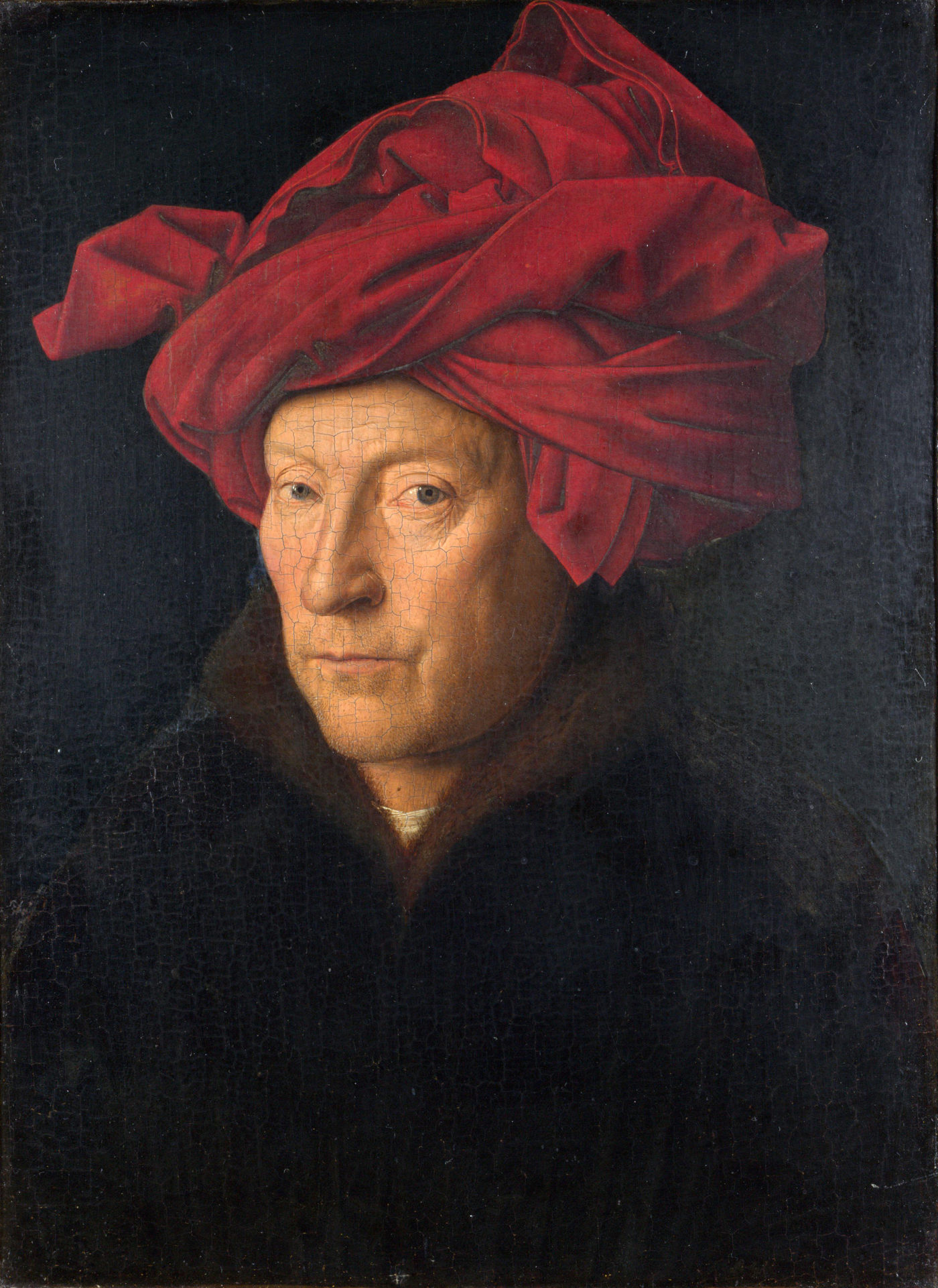 Portrait of a Man by Jan Van Eyck, 1433