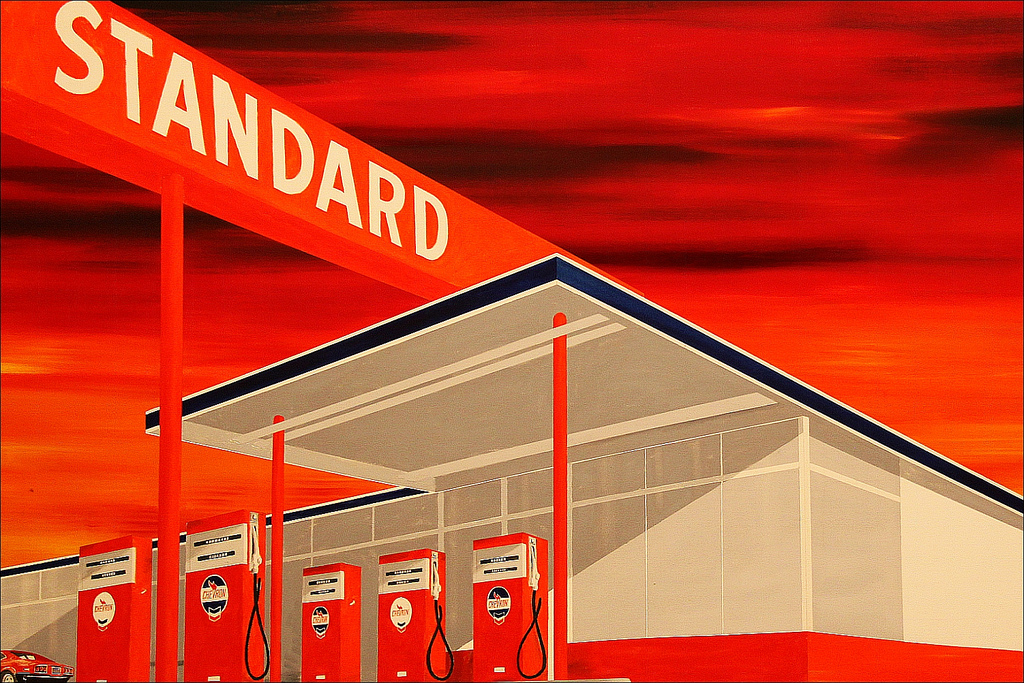 Standard Station by Ed Ruscha, 1986