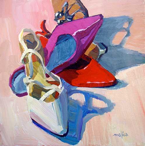 acrylic painting by Patti Mollica