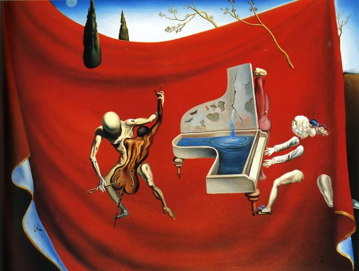 The Red Orchestra by Salvador Dali, 1957