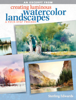 Learn to paint a watercolor landscape like a pro with this free guide from ArtistsNetwork.com