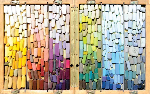 pastel sticks for art