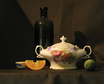 Qiang Huang Demonstrates How To Paint An Oil Still Life