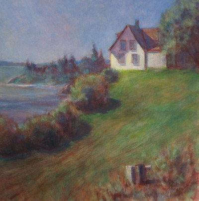 Indirect-painting-8-Seaside House by Michael Chesley Johnson