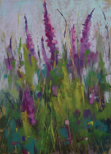 Wild and Free (pastel) by Karen Margulis