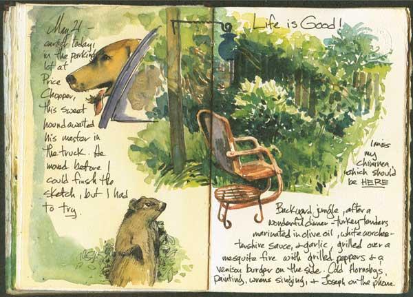 watercolor journal ideas | ArtistsNetwork.com