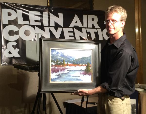 Aaron schuerr at 2014 plein air convention