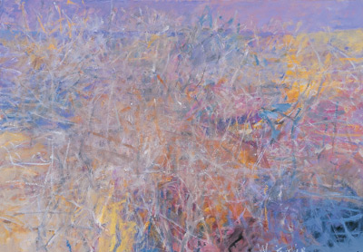 Wolf Kahn's Brambles and Tangles (oil)