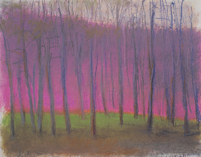 Wolf Kahn's In the Gloaming (pastel)