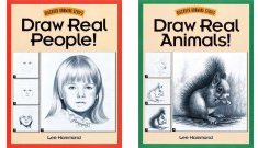 Learn how to draw real people and animals