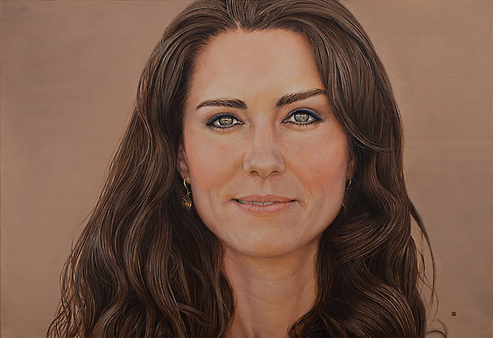 portrait of kate middleton