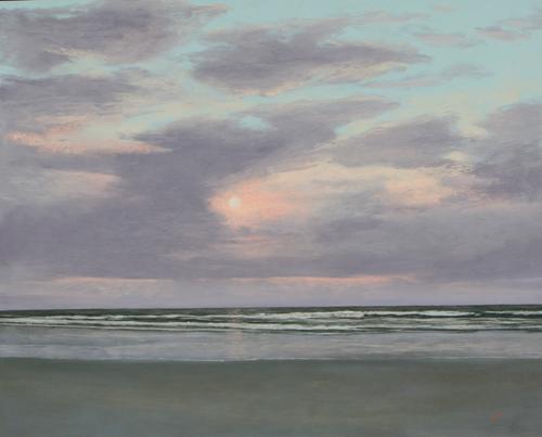 August Sunrise (pastel) by Stan Sperlak