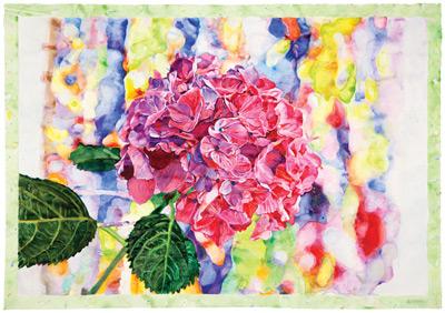 "Joseph Raphael's ""Flower Dream"" (53x75-1/4)"