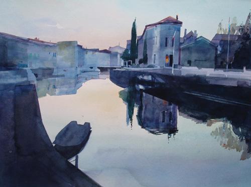 Fine art painting landscape