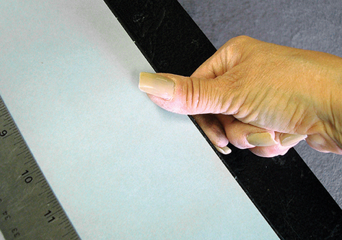 Framing Tips How To Apply A Dust Cover To A Frame