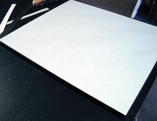 dust cover, step 6 | framing tips