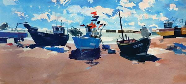 landscape artist Ian Potts