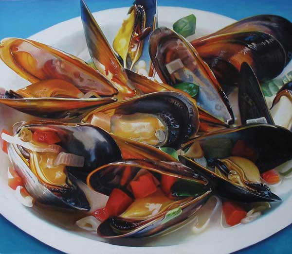 Realist oil painting by Mary Ellen Johnson