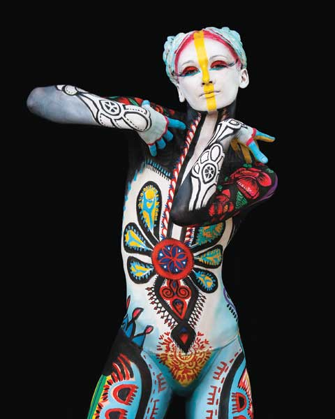 Bodypainting, The Human Canvas