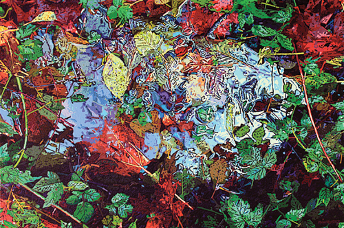 Hodge-Podge (acrylic on panel, 24x36) by Greg Navratil