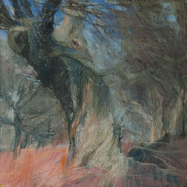 Sarah-Bee-Old-Trees-at-Edge-of-t-Wood-23x23