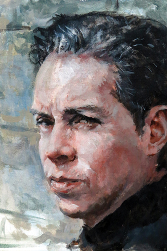 Renaldo (acrylic) by Harry Burman