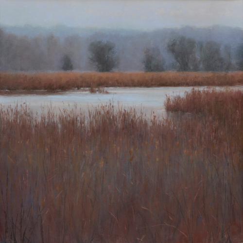 Life of the Marsh (pastel) by Denise LaRue Mahlke | pastel landscapes
