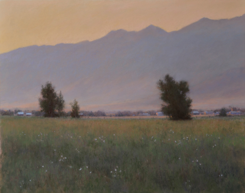 A Summer Occurrence (pastel) by Denise LaRue Mahlke | desert southwest