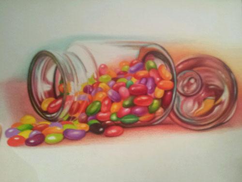 Colored pencil art techniques